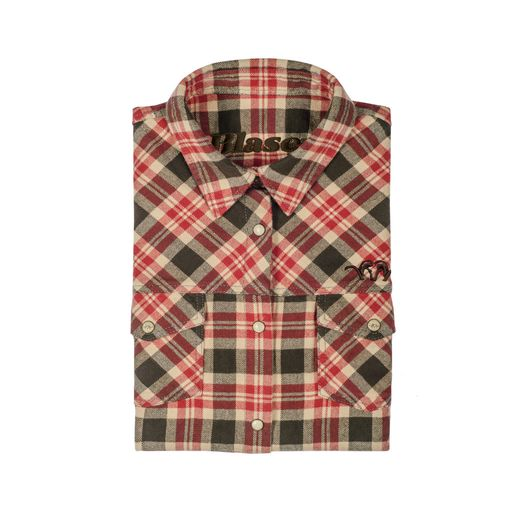 Blaser Flannel Blouse Ladies