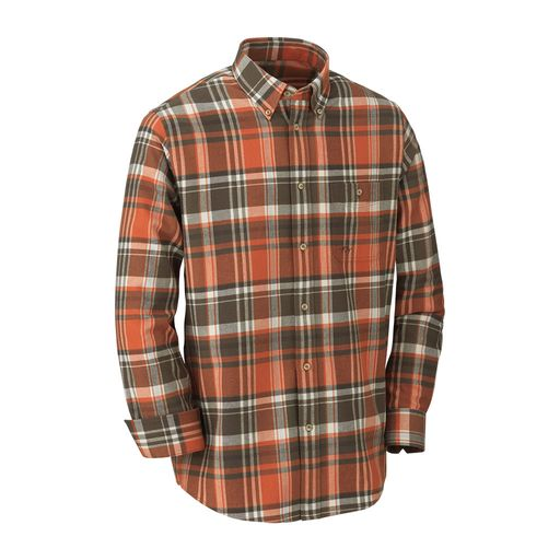 Blaser Outfits Heavy Flannel Shirt Classic Men´s