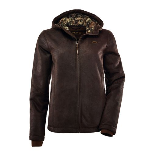 Blaser Suede Jacket Ladies