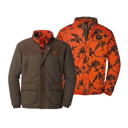 Blaser Outfits Fleece CAMO Reversible Jacket Men´s