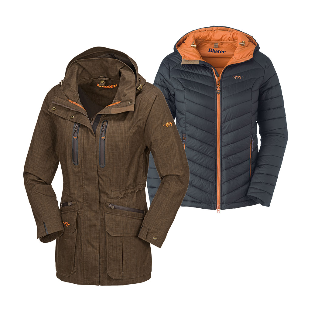 best service 62a5e 60286 Blaser Outfits HYBRID 2-in-1 WP Jacke Damen