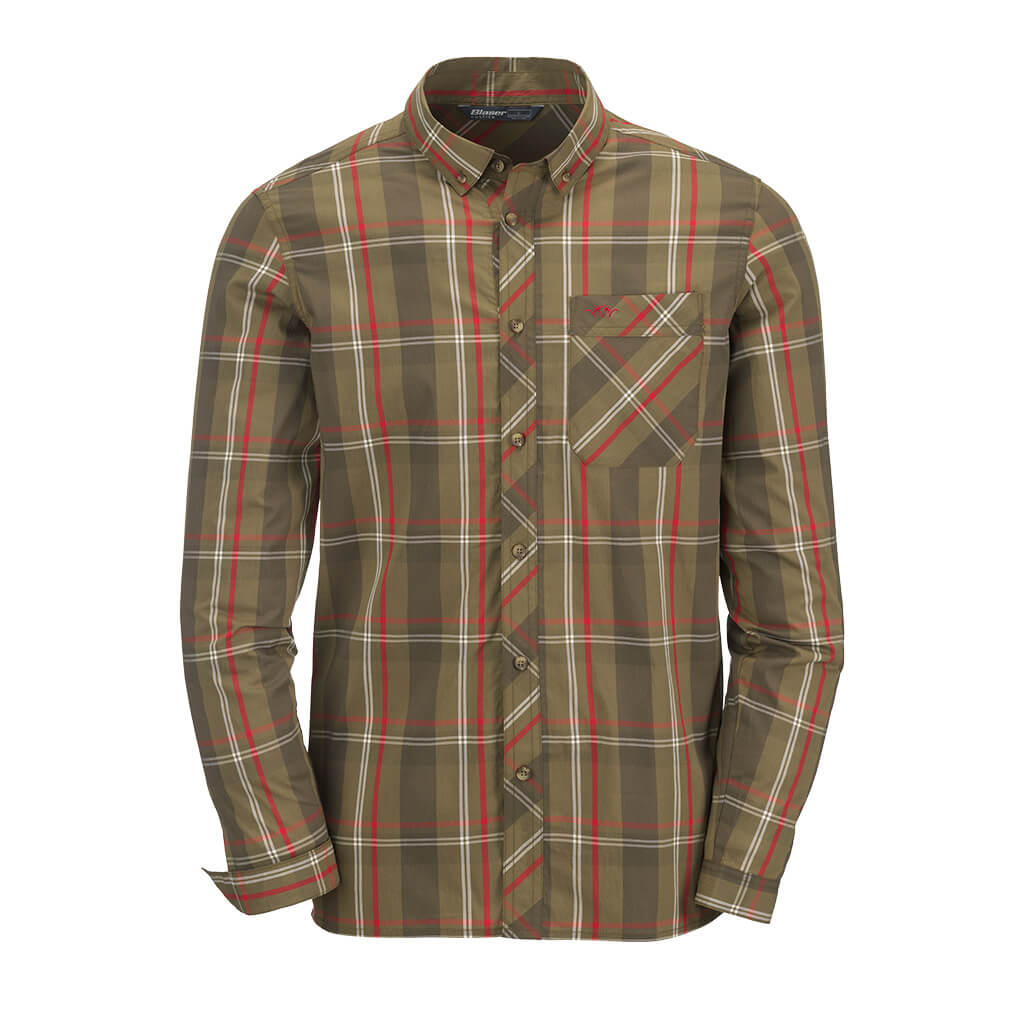 Blaser Outfits Men's Stretch Shirt Harald