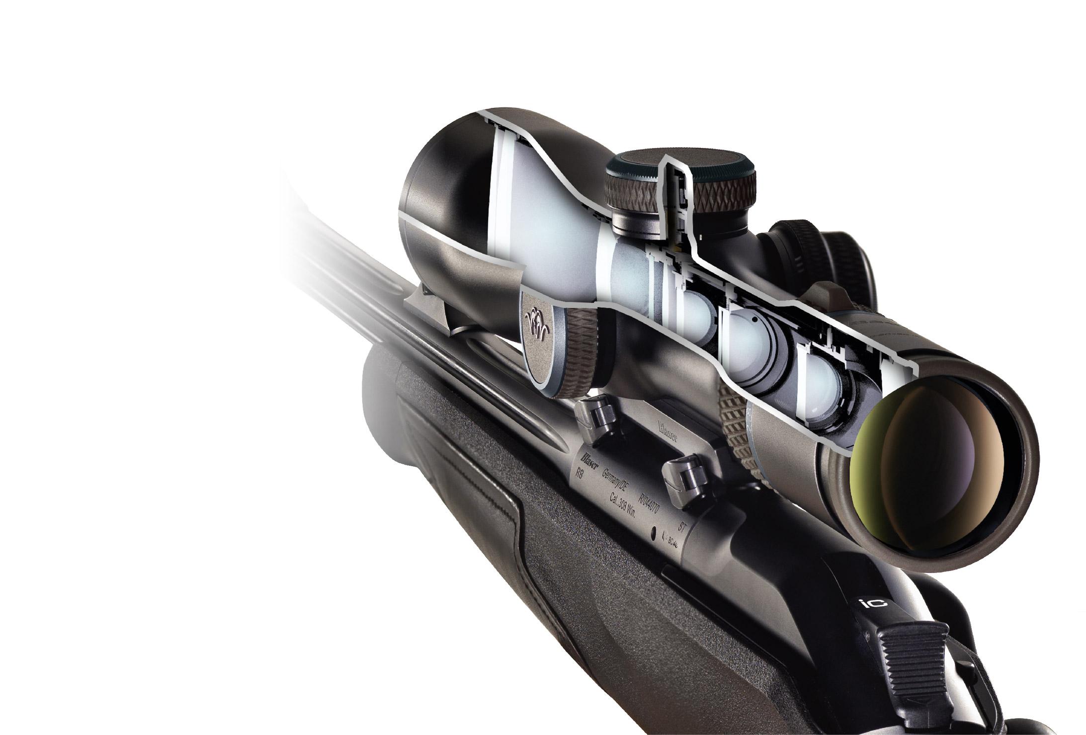 Zielfernrohr Mit Entfernungsmesser Einstellen : Luftgewehr mit einem zielfernrohr einschiessen teil