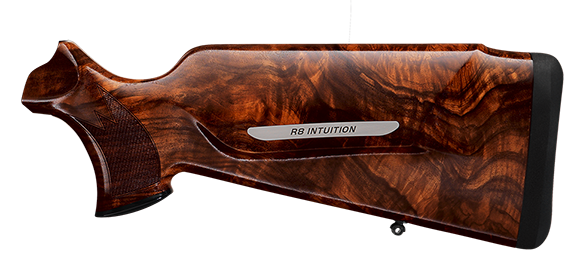 R8 Intuition for the huntress with optimized Monte Carlo stock and specially adapted pistol grip