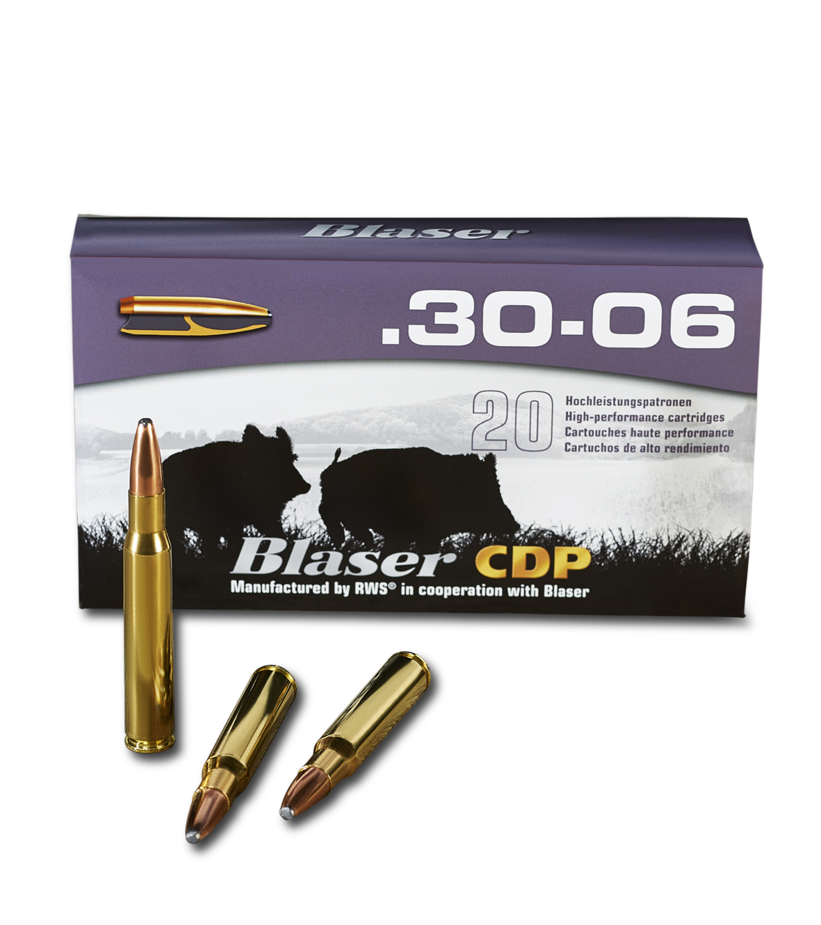 Blaser Munition Controlled Deformation Process .30-06 Verpackung