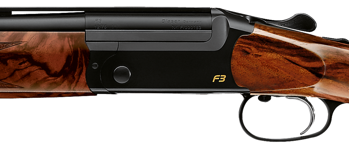 Blaser F3 Action - Side View