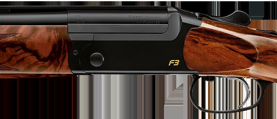 Blaser escopeta F3 lado del sistema
