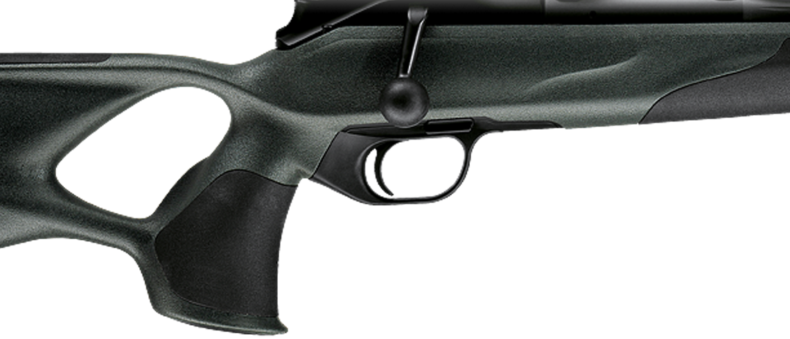Ergonomic Blaser thumbhole stock