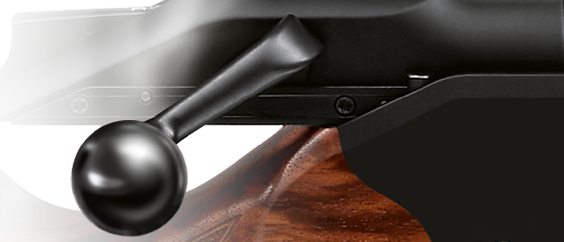 Blaser bolt handle ball DLC coated