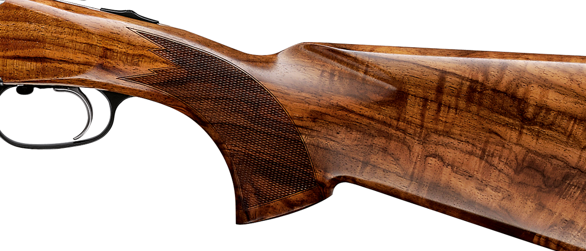 Blaser glossy stock finish