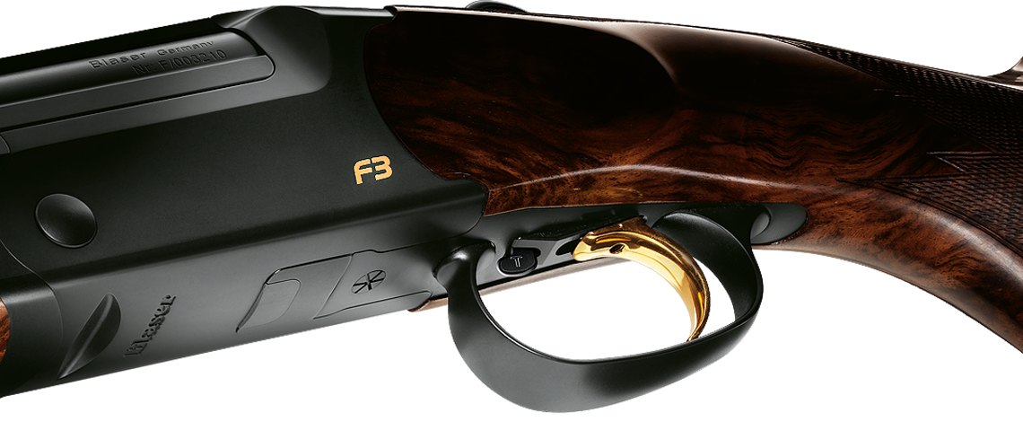Sovrapposto Blaser F3  grilletto regolabile in longitudine